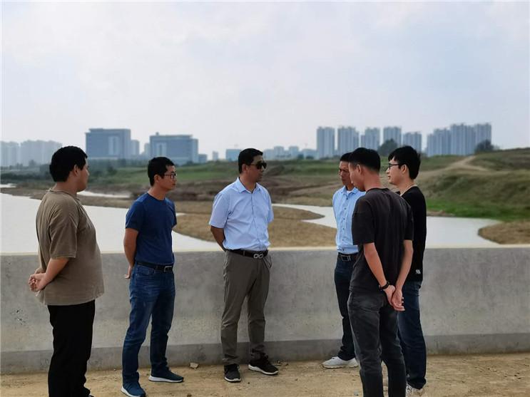 王立余调研合肥水生态修复项目